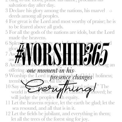 WORSHIP365 2.0 PODCAST