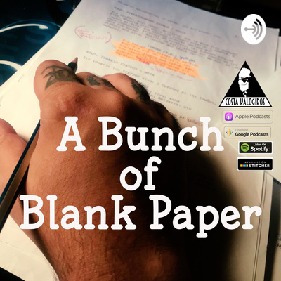 A bunch of blank paper