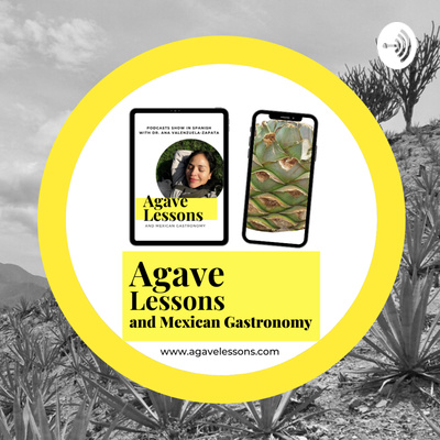 Agave lessons and Mexican gastronomy. Copyright © 2020 Ana G. Valenzuela-Zapata