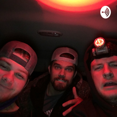 3 dudes chillin in a Dodge Ram 5 feet apart cause we're not gay