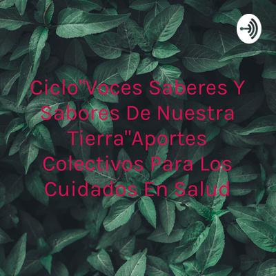 """Ciclo""""Voces Saberes Y Sabores De Nuestra Tierra""""Aportes Colectivos Para Los Cuidados En Salud"""