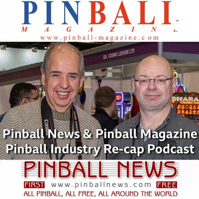 Pinball News & Pinball Magazine Podcast