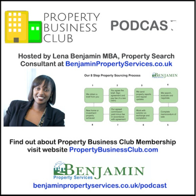 Property Business Club Podcast • BenjaminPropertyServices.co.uk/Podcast