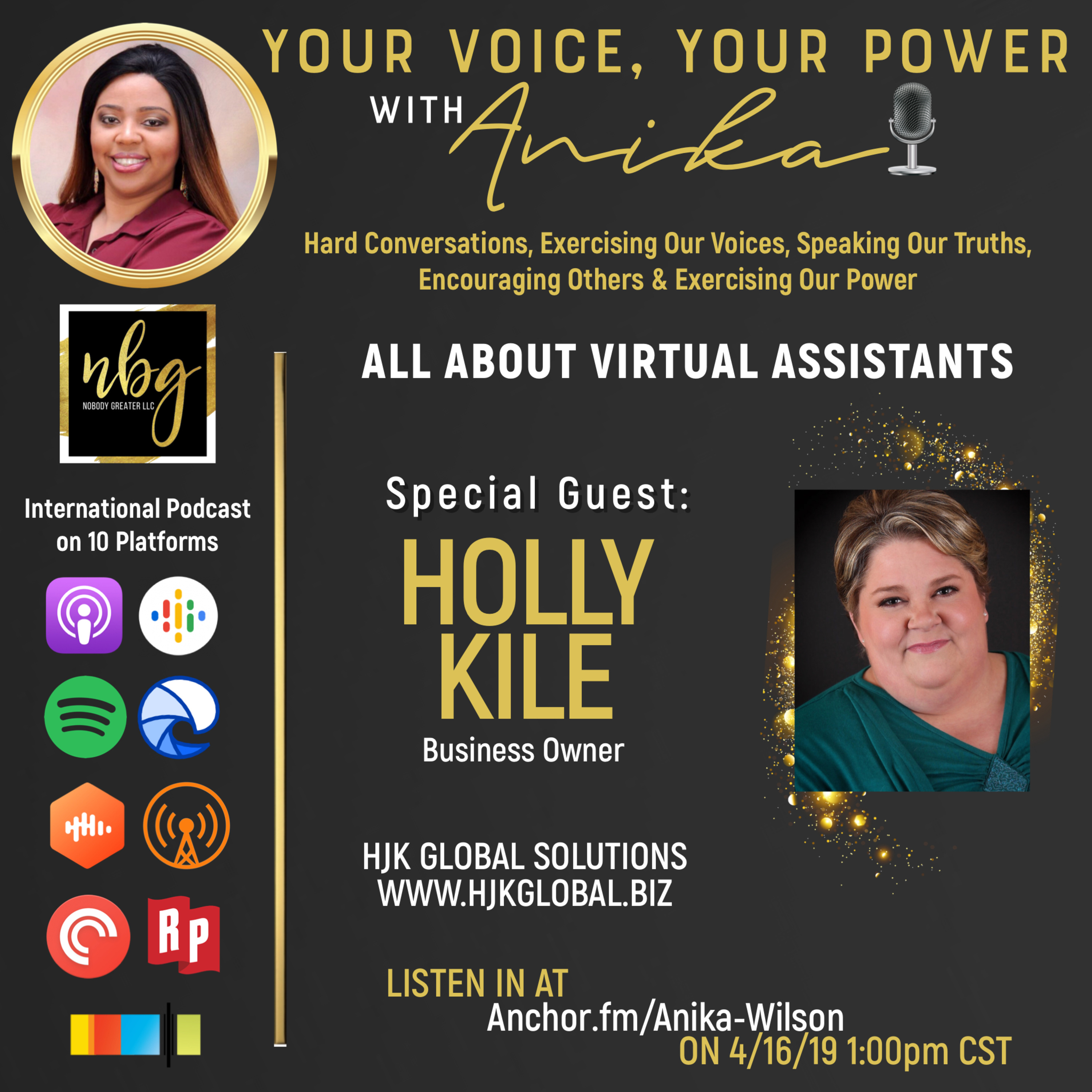 Everything Virtual Assistant and Beyond- Overcoming Chronic Illness While Building An Empire