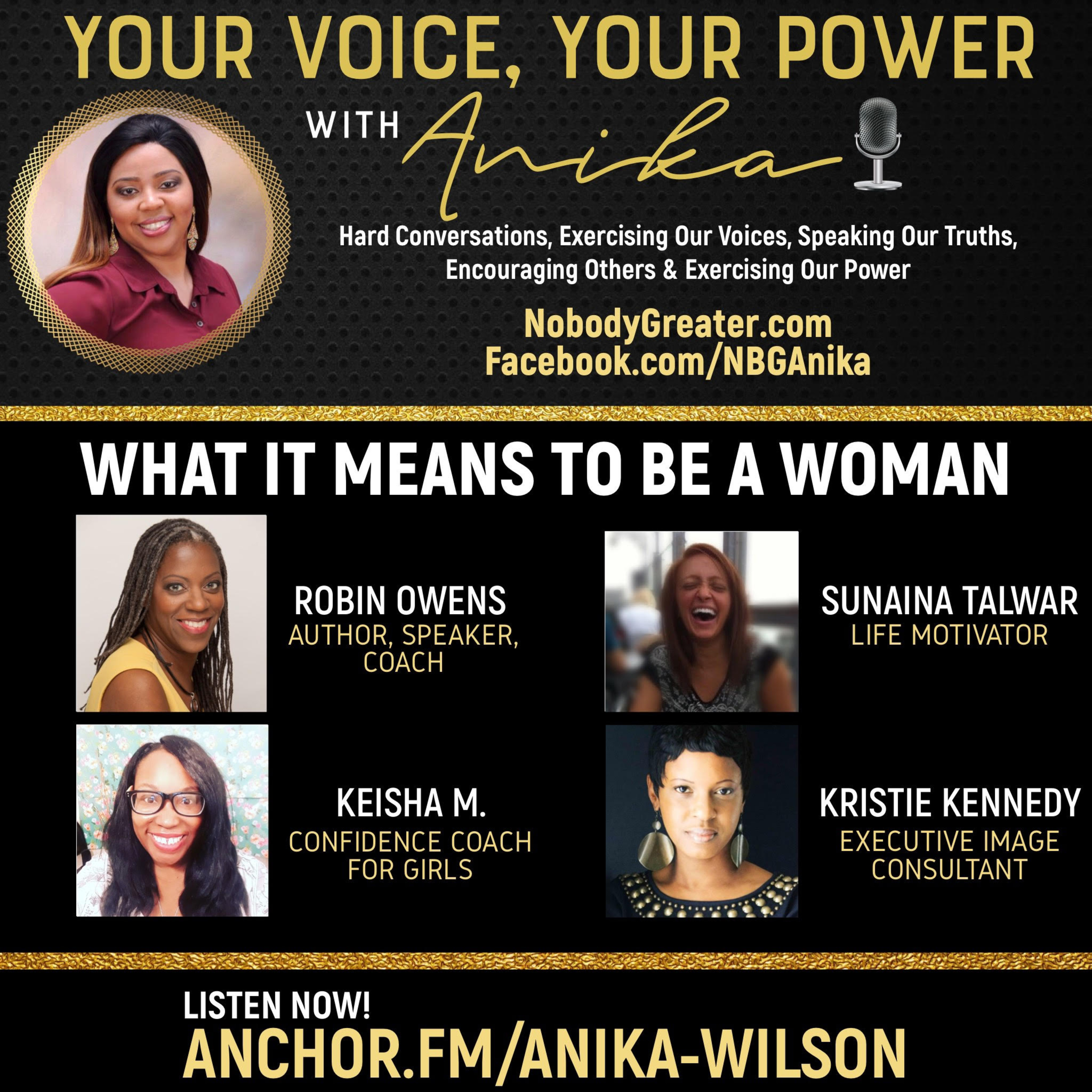 What It Means to Be A Woman-A Powerful Conversation about the Common Perceptions of Womanhood.