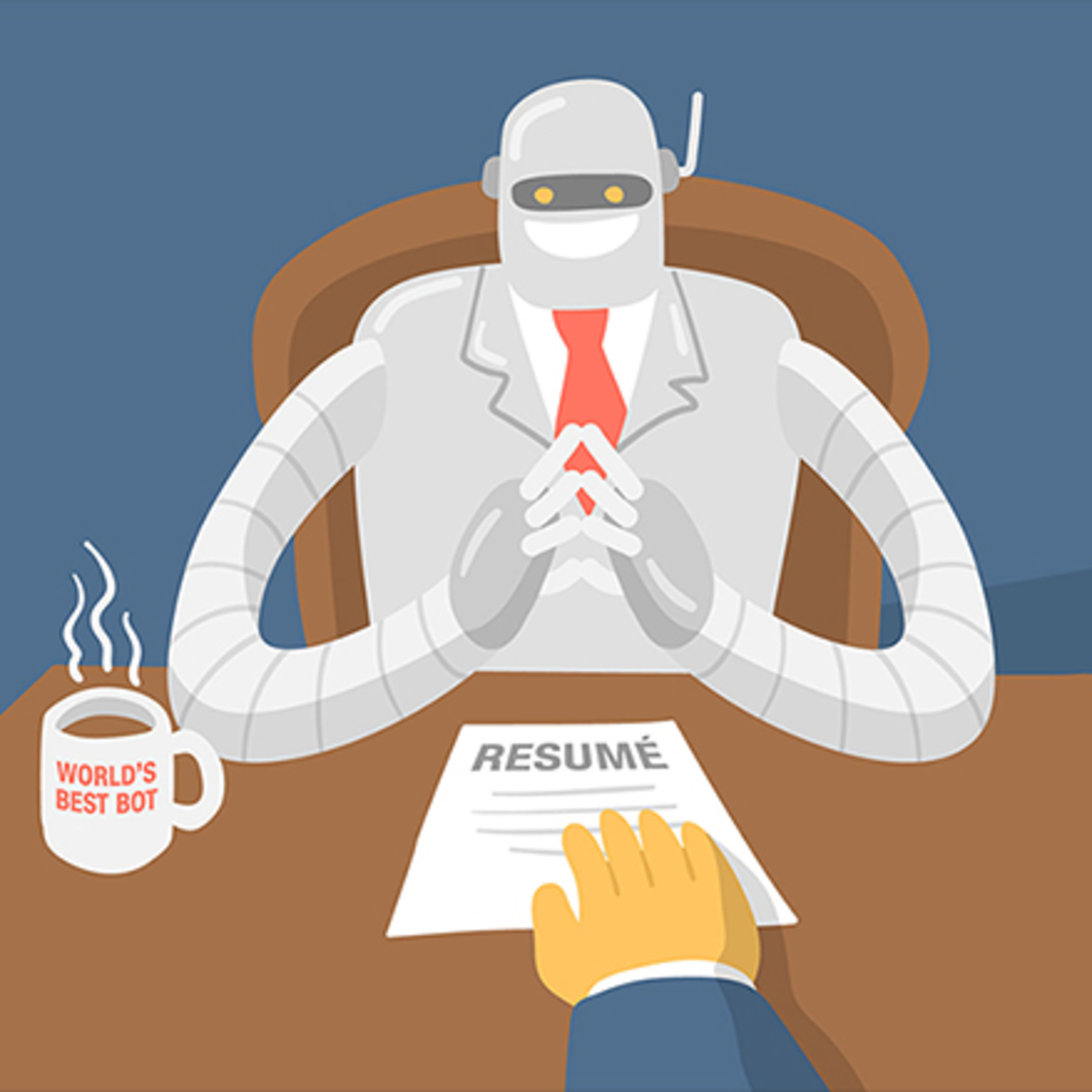 When will robots replace recruiters?