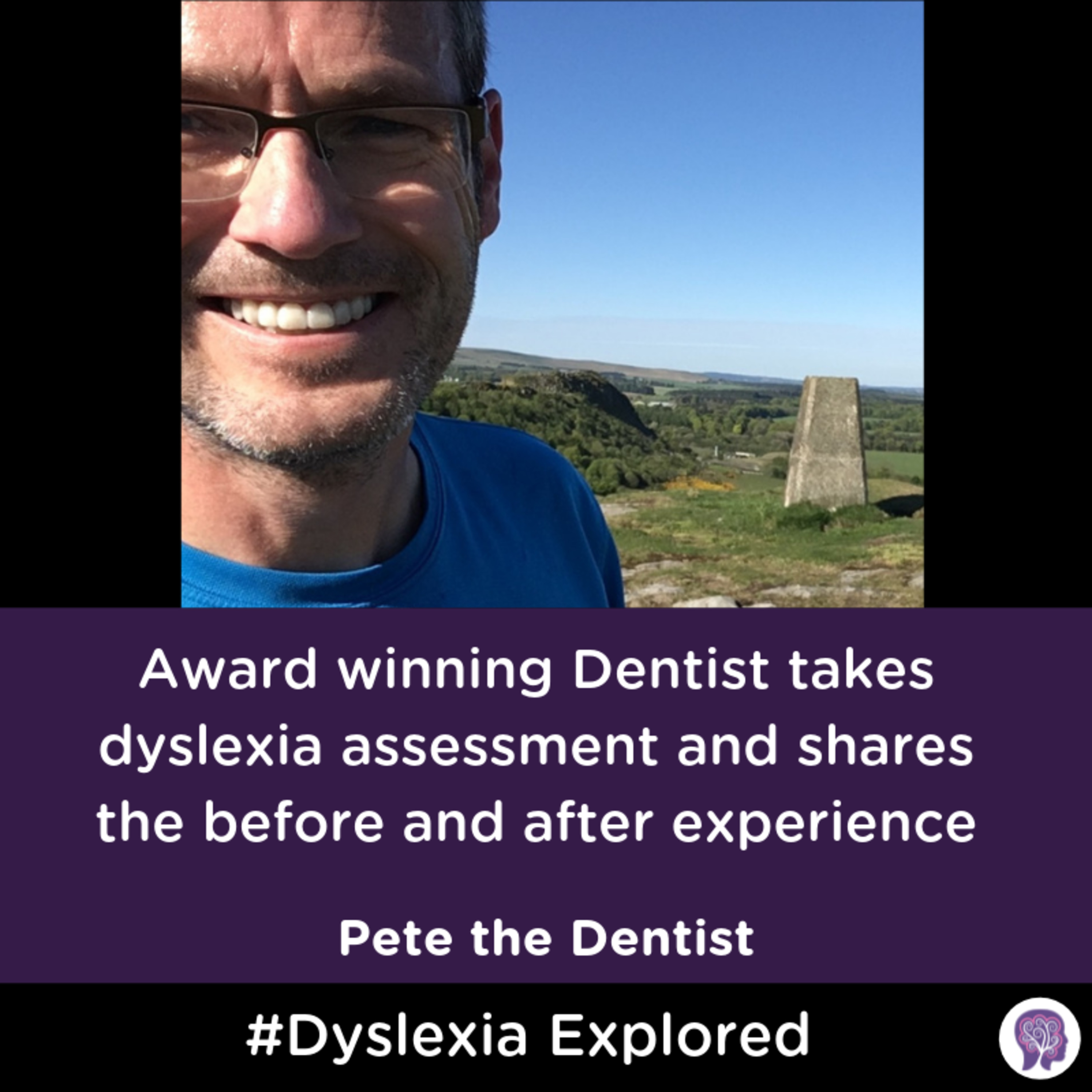 #39 Award-winning Dentist takes a dyslexia assessment and shares the before and after the experience