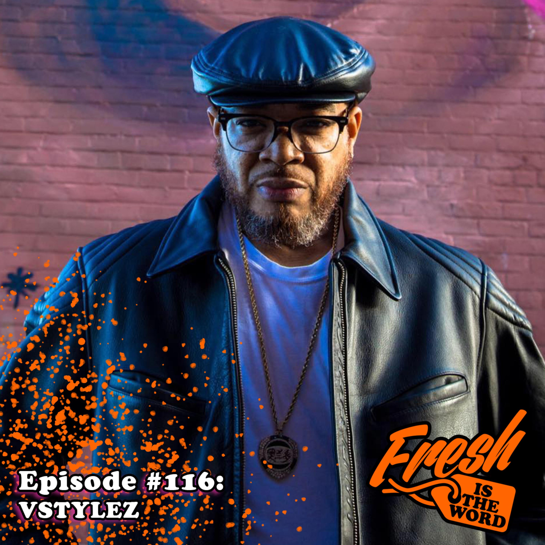 Episode #116: Vstylez - Detroit Hip-Hop Artist, New Album 'Thornton Melon'