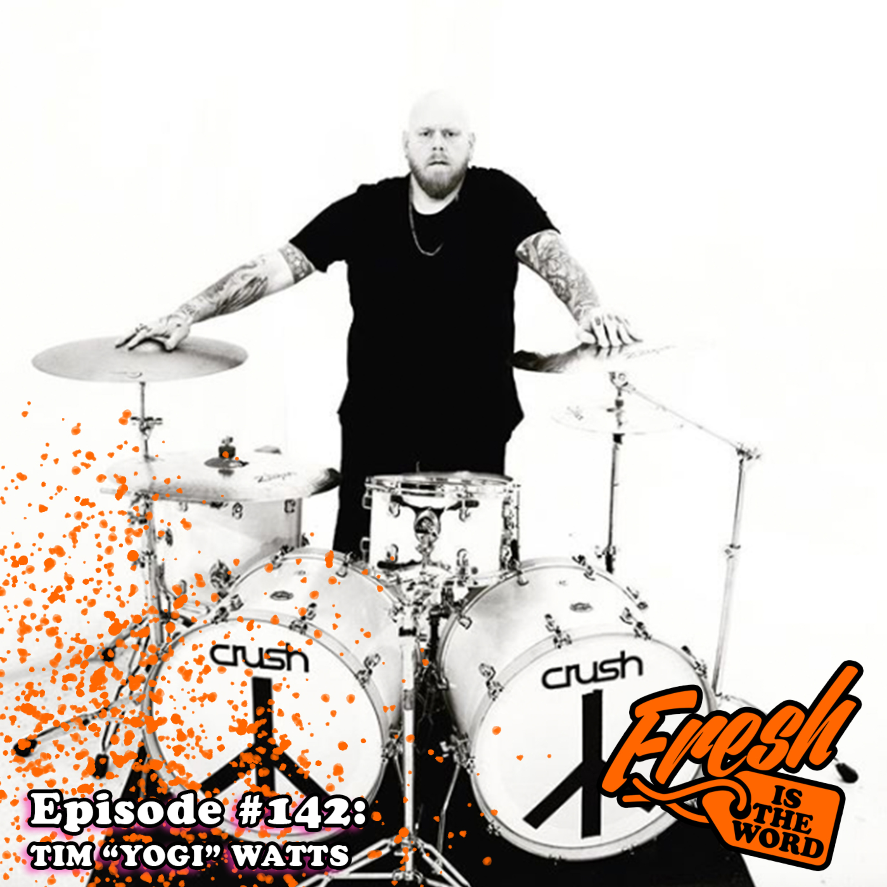 "Episode #142: Tim ""Yogi"" Watts - Drummer of Metal Band 'Demon Hunter', New Albums ""War"" and ""Peace"" Out Now"
