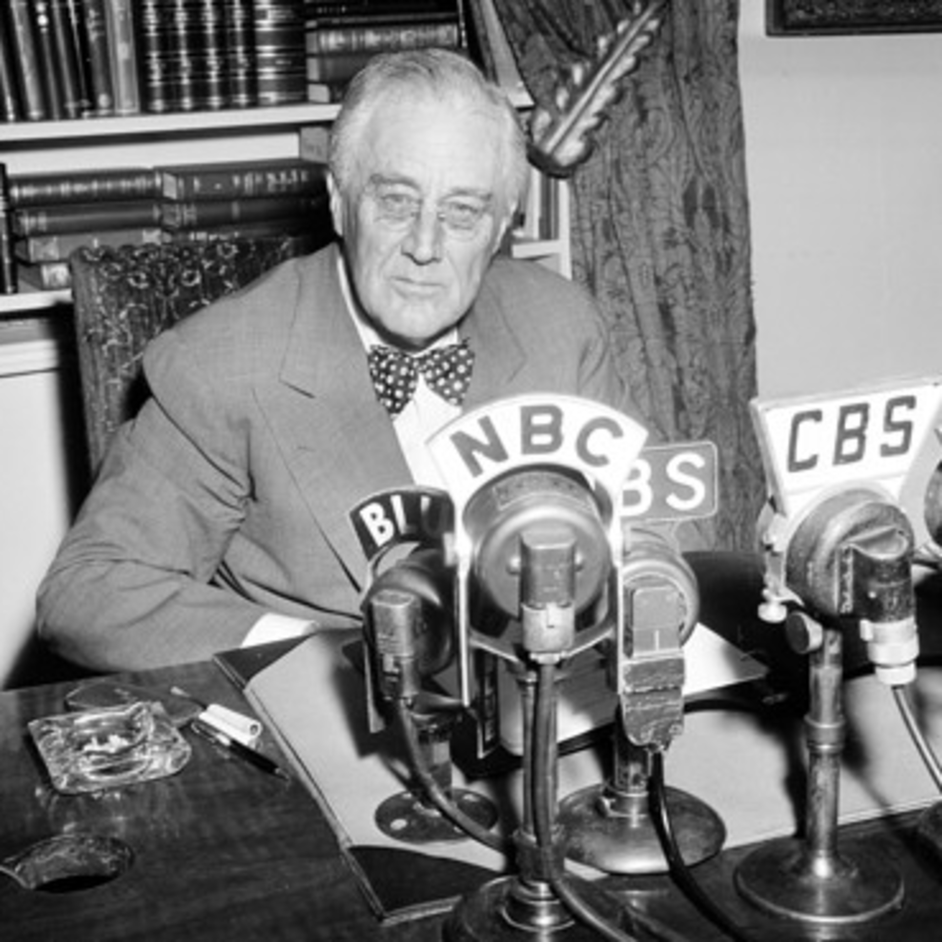FDR's Radio Prayer to the Nation on D-Day - June 6, 1944 - WWII