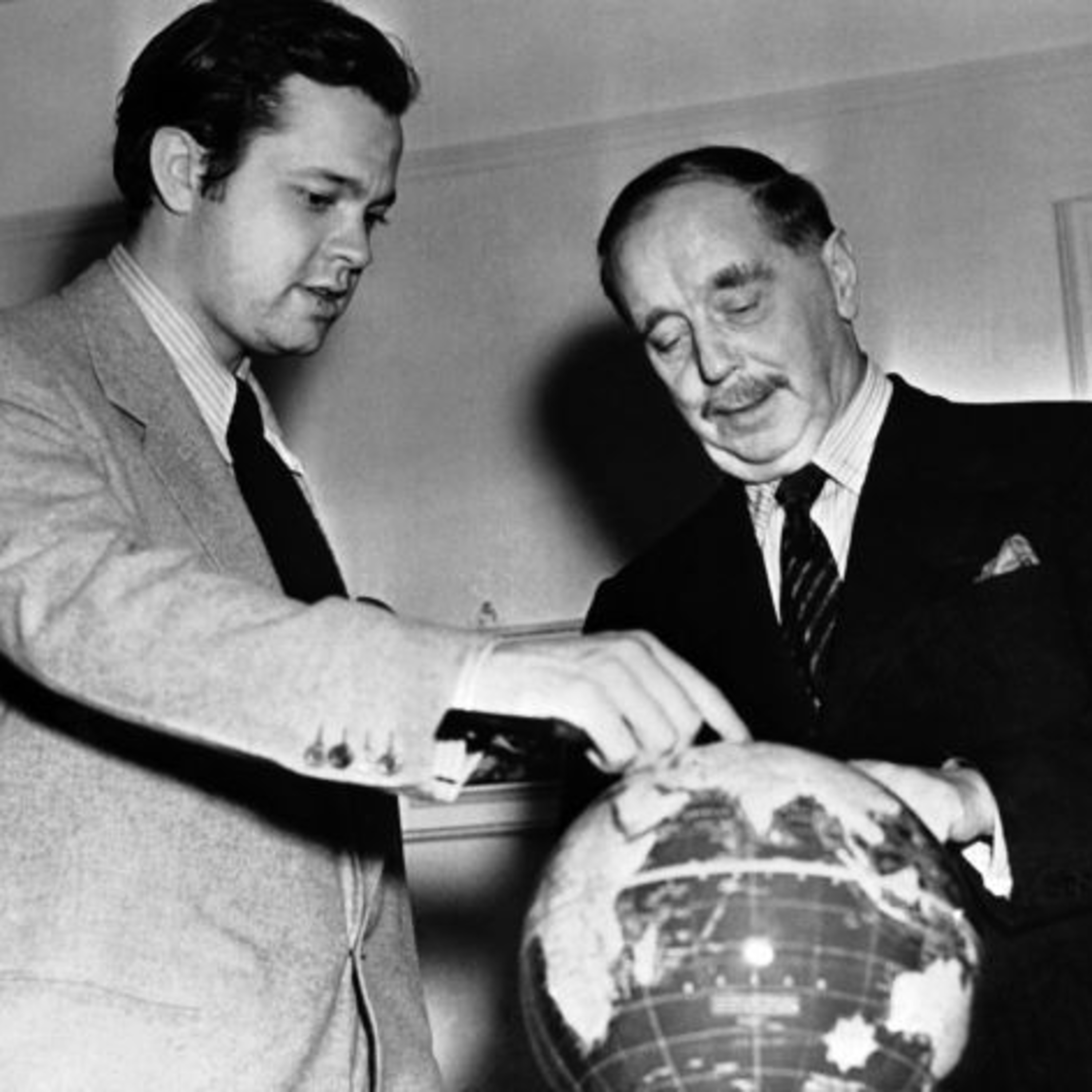 H.G. Wells Meets Orson Welles - Rare Recording