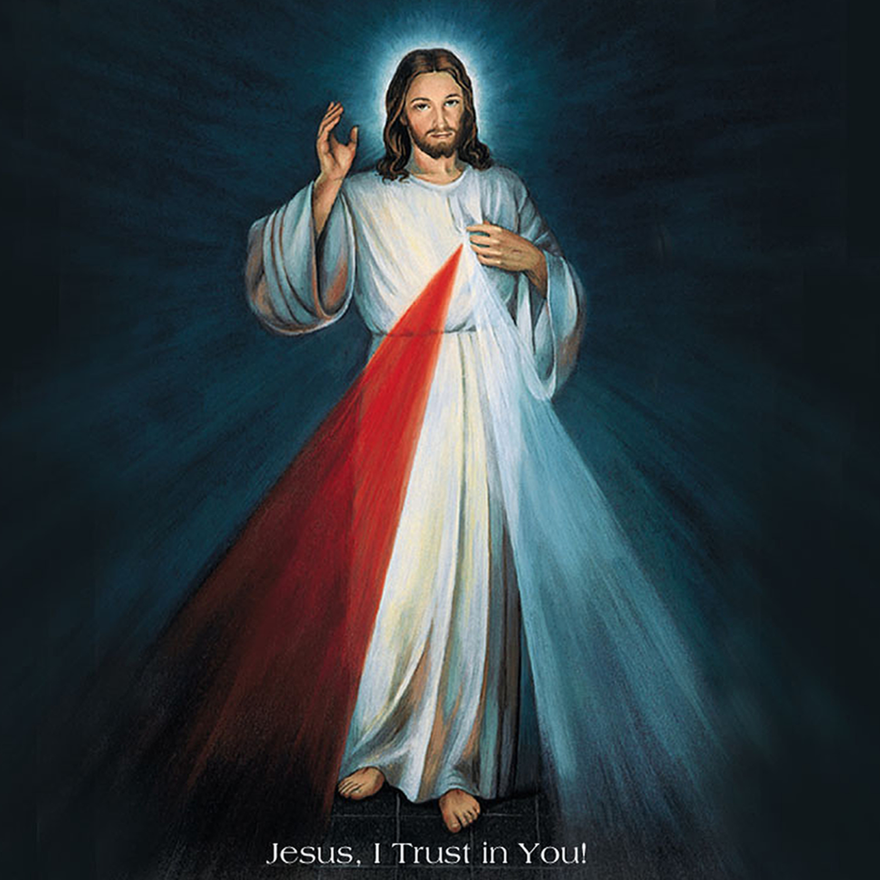 Divine Mercy Chaplet - Jesus I Trust In You