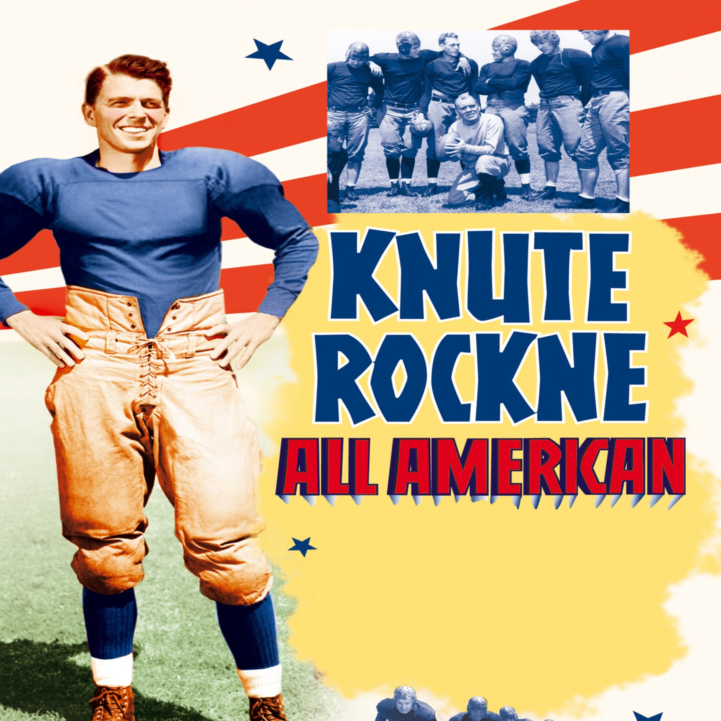 Knute Rockne All American - Starring Patrick O'Brien and Ronald Reagan - All-Star Radio Dramas of Classic Films - Lux Radio Theater