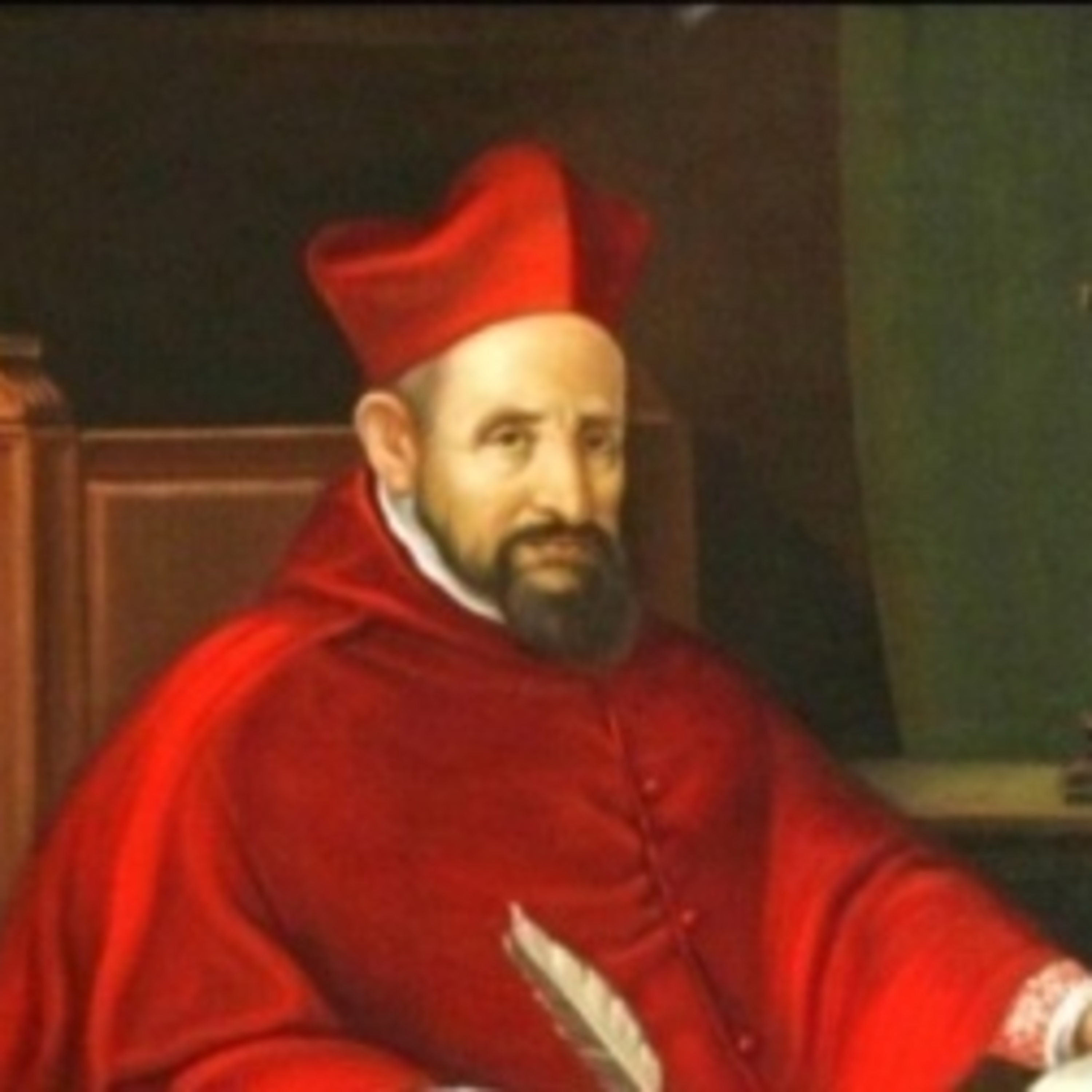 The Seven Words On The Cross - St. Robert Bellarmine - Fifth Word - I Thirst