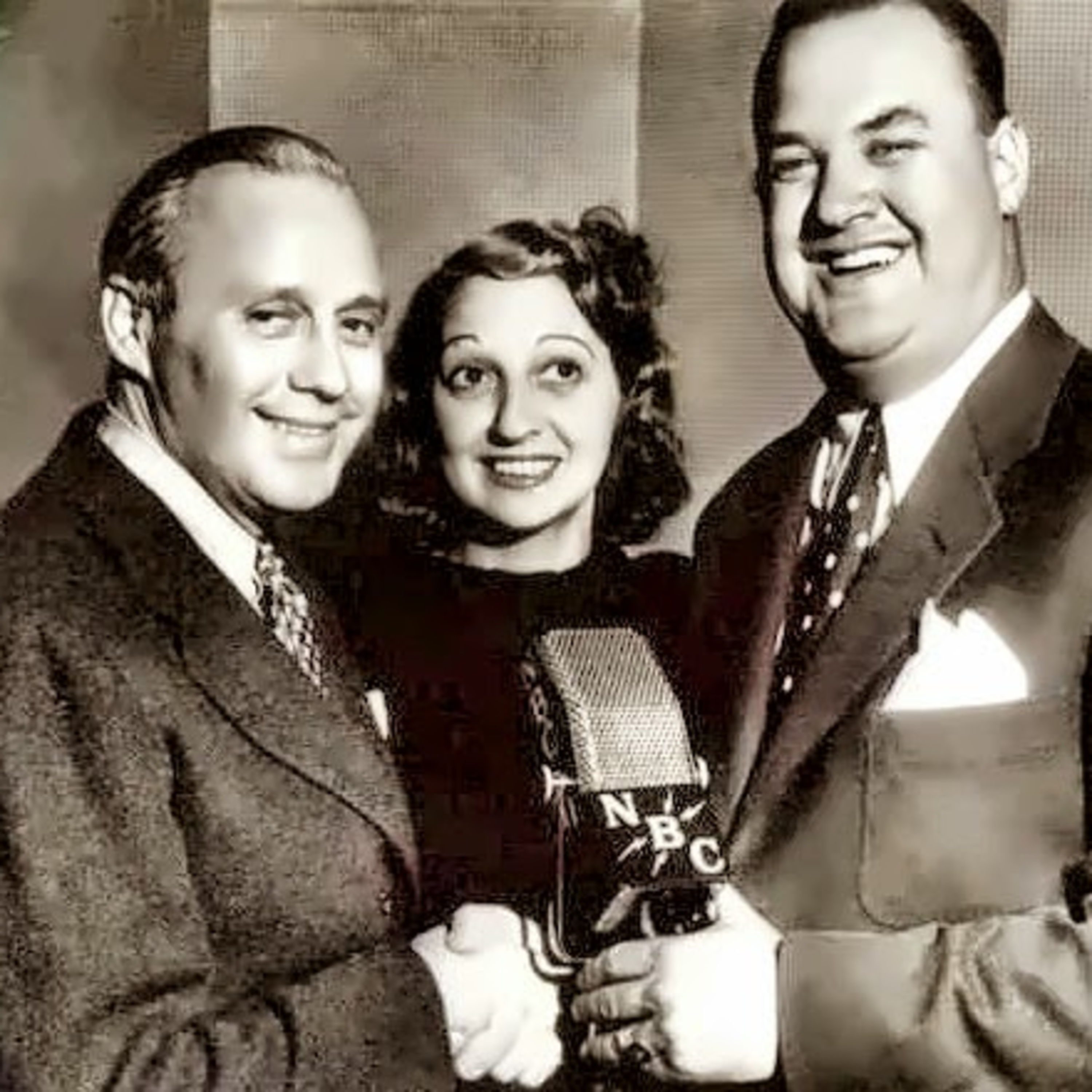 The Benny and Chesterton Morning Show Podcast - Jacks' Guests Are Amos and Andy and Eddie Cantor - Chesterton's ManAlive - Mary's Grass Reek