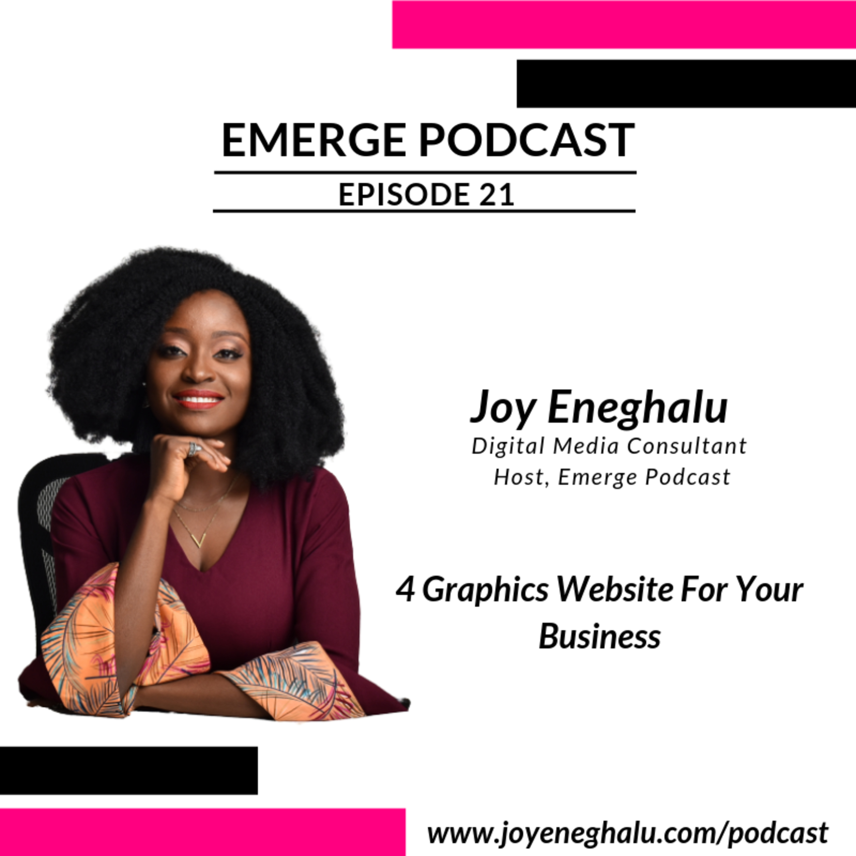 EP 21 - 4 Graphics Website For Your Business