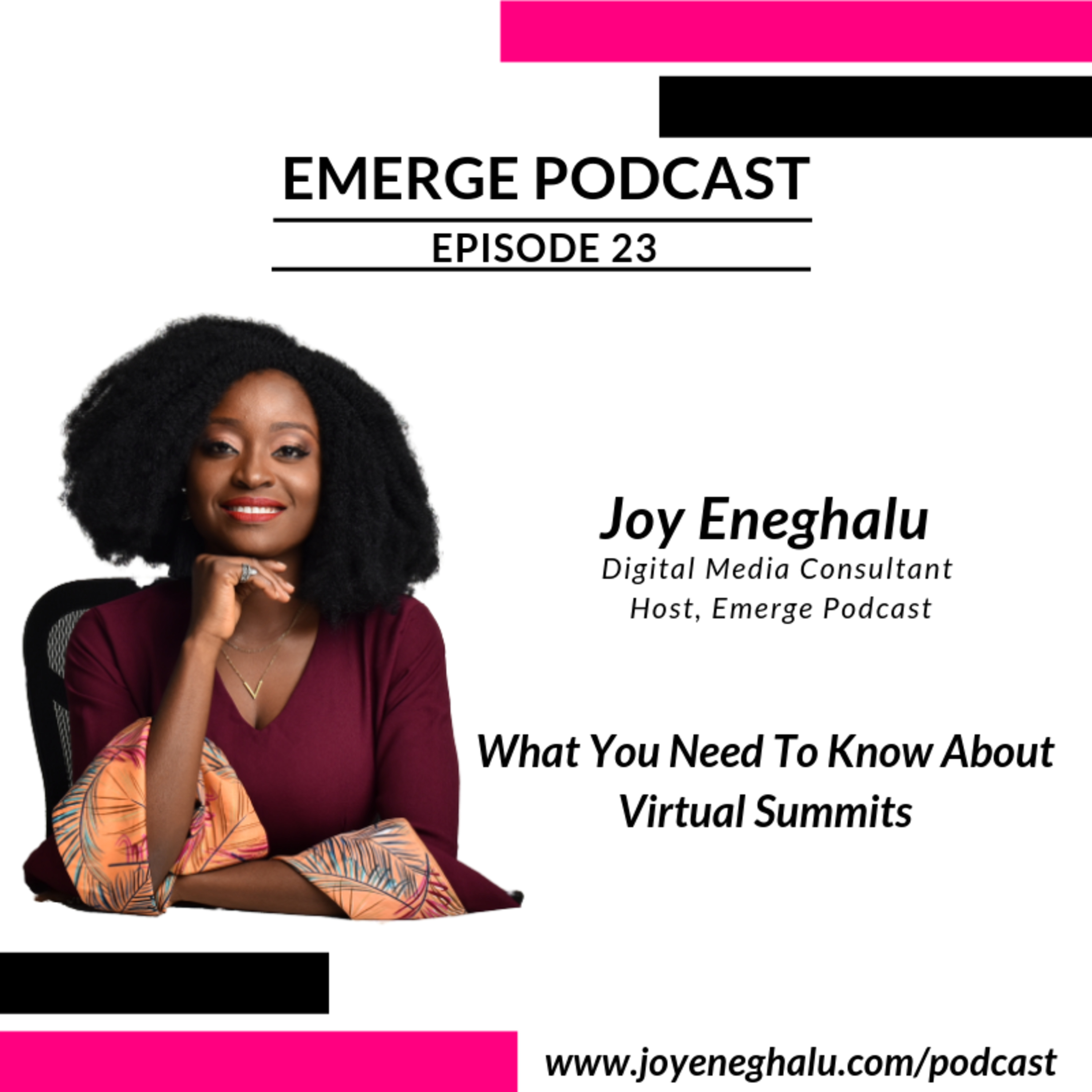 EP 23 - What You Need To Know About Virtual Summits
