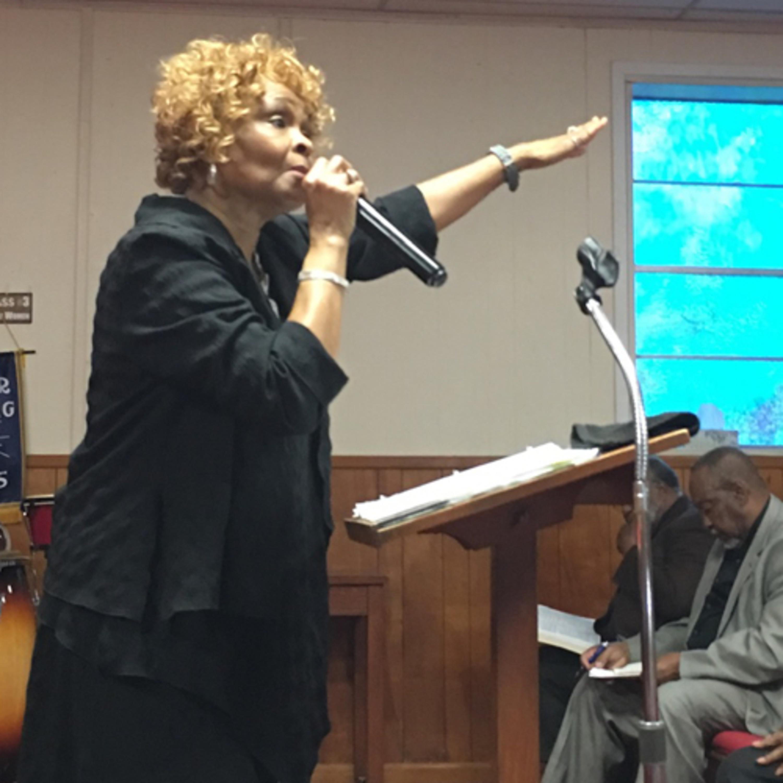 Evangelist Donna Robinson          Recued from Sin