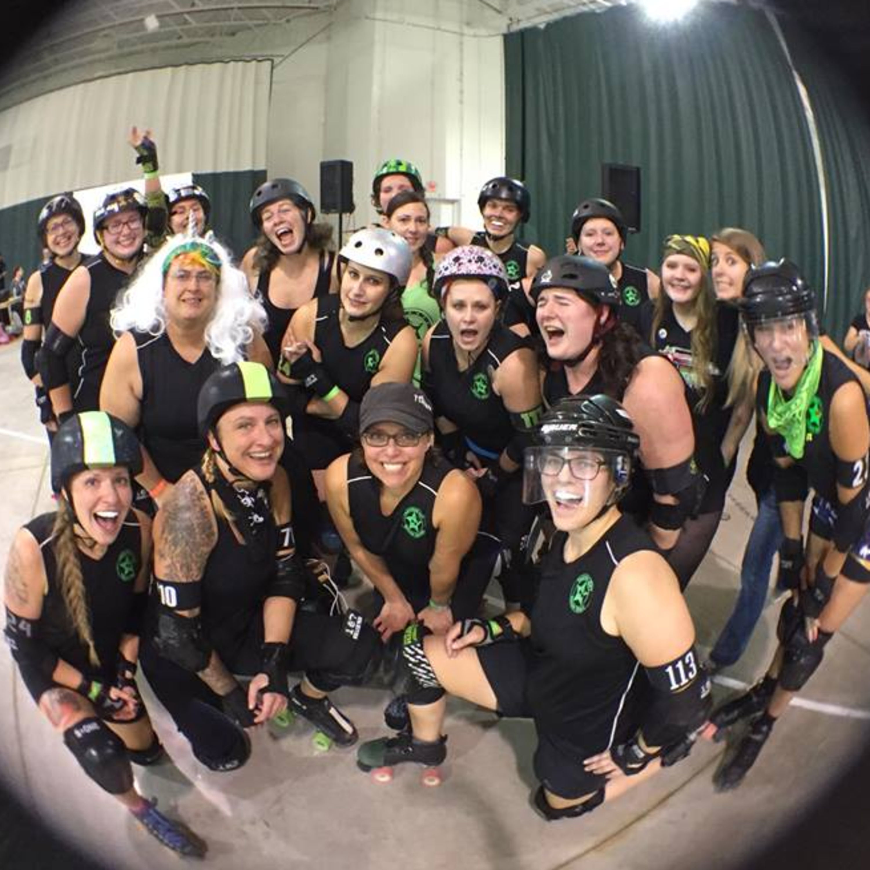 Roller Derby Thoughts - 027 - 3 Ways to Keep Practice a Happy Place!