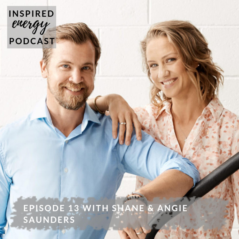 Episode 13 - Shane & Angie Saunders, Breathing Experts (Breathe Me)