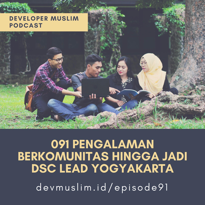 091 Pengalaman Jadi Developer Student Club Lead Jogja Bareng Tesya