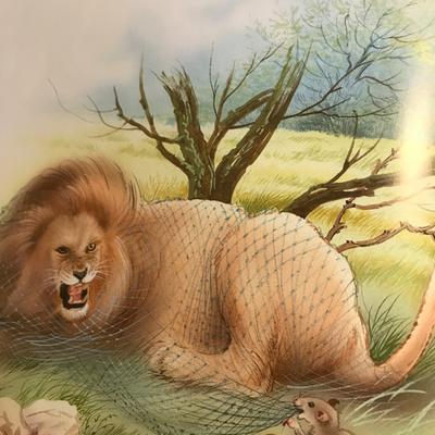 Fable Le Lion Et Le Rat By Poésie De Laura Et Lina A Podcast On