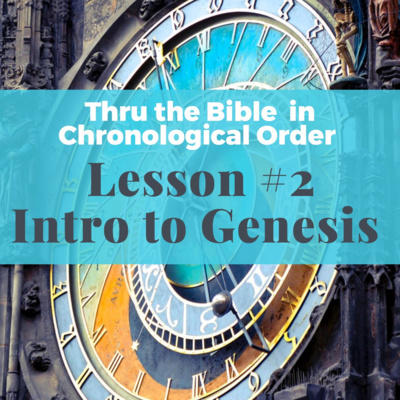 Intro To Genesis and Job and the BIG Questions of life
