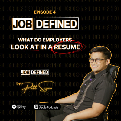 Episode 4: What do employers look at in a resume?