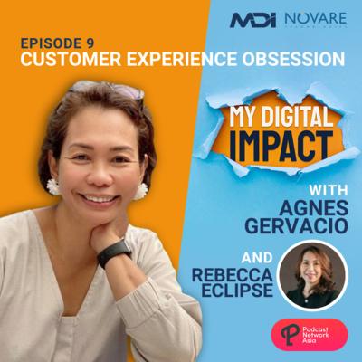 Ep. 9: Customer Experience Obsession - Rebecca Eclipse of Globe Telecom