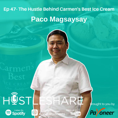 Paco Magsaysay - The Hustle Behind Carmen's Best Ice Cream