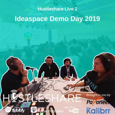Hustleshare Live 2 - Ideaspace Demo Day 2019