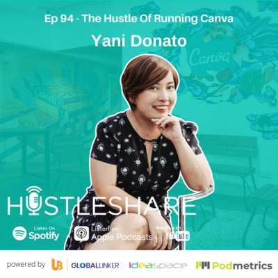 Yani Donato - The Hustle Of Running Canva