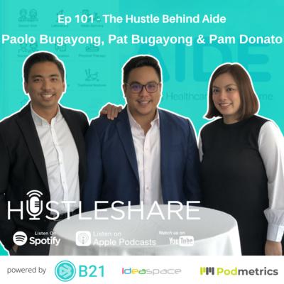 Paolo Bugayong, Patrick Bugayong and Pamela Donato - The Hustle Behind Aide