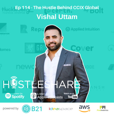Vishal Uttam - The Hustle Behind CCIX Global and Veloquence Capital