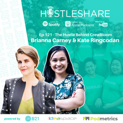 Brianna Carney and Kate Ringcodan - The Hustle Behind CrewBloom