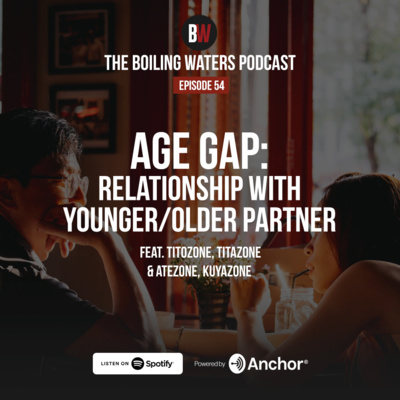 54. Age Gap: Relationship with Younger/Older Partner