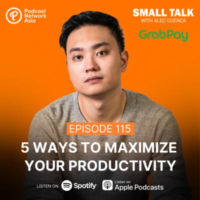 5 Ways To Maximize Your Productivity