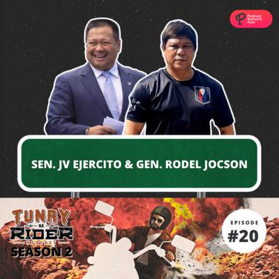 Ep. 20: Sen. JV Ejercito and Gen. Rodel Jocson