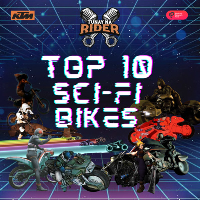 Episode 48 : Top 10 Best Sci-Fi Bikes in the Multiverse! Who can out CC the Battle Hopper?!