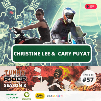 Episode 57: Fight, ride, and love on two wheels with Doctor Christine Lee & Cary Puyat