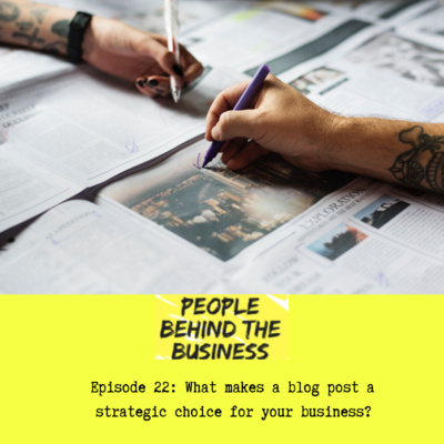 What makes a blog post a strategic choice for your business?