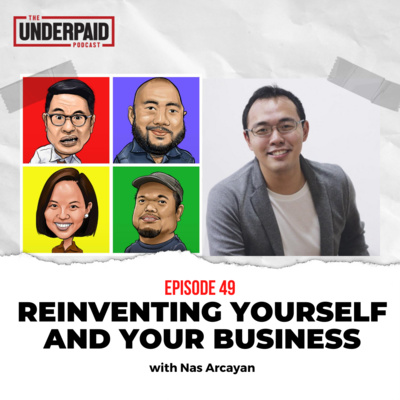 Episode 49: Reinventing yourself and your business