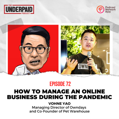 Episode 72: How to manage an online business during the pandemic
