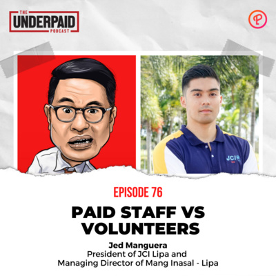 Episode 76: Paid Staff vs. Volunteers
