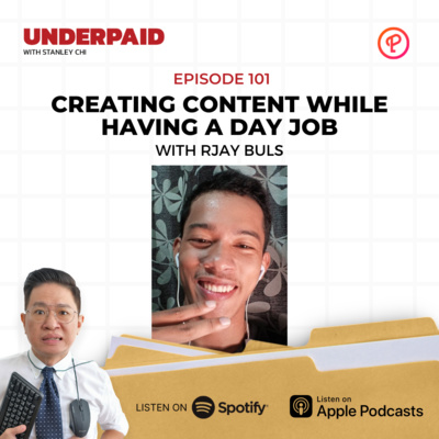 Episode 101: Creating content while having a day job