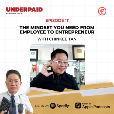 Episode 111: The mindset you need from employee to entrepreneur