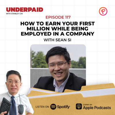 Episode 117: How to Earn Your First Million While Being Employed in a Company