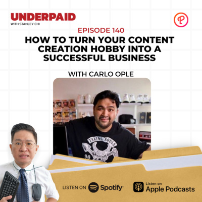 Episode 140: How To Turn Your Content Creation Hobby Into a Successful Business