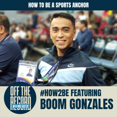 """#HOW2BE: """"HOW TO BE A SPORTS ANCHOR"""" feat. BOOM GONZALES 