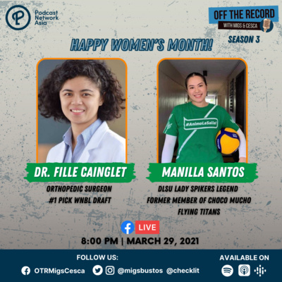 S03E02: Dr. Fille Cainglet and Manilla Santos
